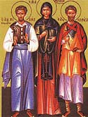 Martyr Quadratus and those with him at Nicomedia