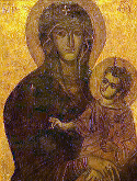 "Icon of the Mother of God Icon ""Not Made by Hands"" from Lydda"