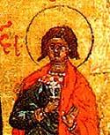 Martyr Agapius at Caesarea, in Palestine