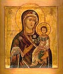 "Appearance of the Smolensk ""Directress"" Icon of the Mother of God brought from Constantinople"