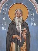 Monastic Martyr Euphrosynus of Blue Jay Lake, Novgorod