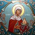 Martyr Lydia in Illyria
