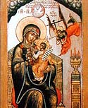 "Icon of the Mother of God of ""the Uncut Mount"""