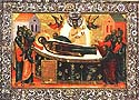 Translation of the Dormition Icon of the Mother of God from Constantinople to the Kiev Caves, Far Caves