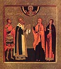 Martyr Maura of Antinoe in Egypt
