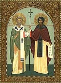 Equals of the Apostles and Teachers of the Slavs, Cyril and Methodius