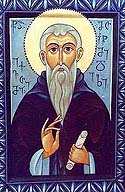 St. Euthymius the New, Founder of the Iveron Monastery and His Fellow Georgian Saints of Mt. Athos