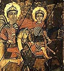 Martyrs Isidore and Myrope of Chios