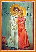 Martyrs David and  Tarichan of Georgia