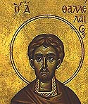Martyr Thallelaeus at Aegae in Cilicia
