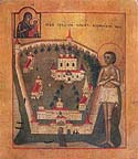 Blessed James of Borovichi the Wonderworker of Novgorod