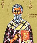 St. Michael the Confessor the Bishop of Synnada
