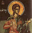 Apostle Carpus of the Seventy