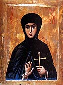 Virginmartyr Theodosia the Nun of Constantinople