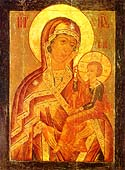 Ozerianka Icon of the Mother of God of Shuiu-Smolensk