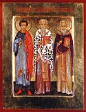 Martyrs Akepsimas the Bishop, Joseph the Presbyter, and Aithalas the Deacon, of Persia