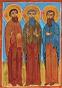 Ss. John, Stephen, and Isaiah of Georgia