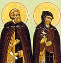Martyrs Galaction and his wife, Epistemis, at Emesa
