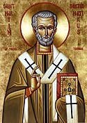 Saint Martin the Merciful the Bishop of Tours