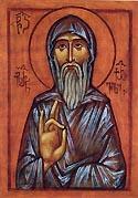 Venerable Hilarion the Monk and Wonderworker of Thessalonica, Georgian