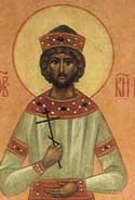 Blessed Yaropolk the Prince of Vladimir-Volhynia, in Holy Baptism Peter