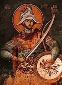 Great Martyr Mercurius of Caesarea, in Cappadocia