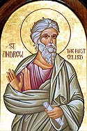 Apostle Andrew, the Holy and All-Praised First-Called