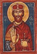 Saint Vakhtang Gorgasali, King of Georgia