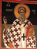 Hieromartyr Dionysius, Bishop of Alexandria