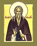 Venerable Sergius the Abbot of Nurma and Disciple of the Venerable Sergius of Radonezh, Vologda