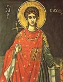 Martyr Bacchus in Syria