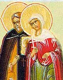 Martyrs Eulampius and Eulampia, at Nicomedia, and 200 Martyrs with them