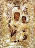 "Icon of the Mother of God ""of the Akathist"" of Zographou Monastery"