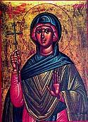 Martyrs Zenaida and Philonilla, of Tarsus in Cilicia