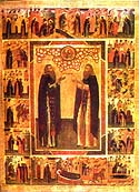 Venerable Amphilochius the Abbot of Glushetsa