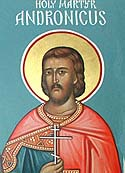 Martyr Andronicus at Tarsus, in Cilicia