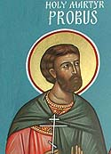 Martyr Probus at Tarsus, in Cilicia