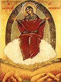 """Multiplier of Wheat"" Icon of the Mother of God"