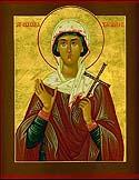 St. Glyceria at Adrianopolis