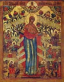 "Icon of the Mother of God ""the Joy of All Who Sorrow"""