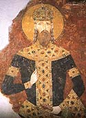 Saint Stephen Milutin of Serbia
