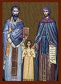 New Martyrs Raphael, Nicholas, and Irine of Lesbos