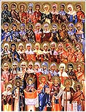 Holy Forty Women Martyrs and Martyr Ammon the Deacon, their teacher, at Heraclea in Thrace