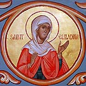 Righteous Elizabeth the mother of St John the Baptist