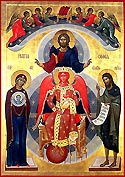 Icon of Sophia, the Wisdom of God