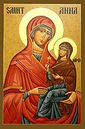 Holy, Righteous Ancestor of God, Anna