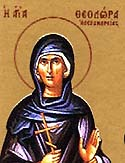 Venerable Theodora of Alexandria