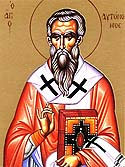 Hieromartyr Autonomus the Bishop in Italy