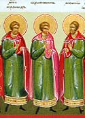 Martyr Chronides of Alexandria and those with him