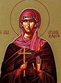 Martyr Agathocleia